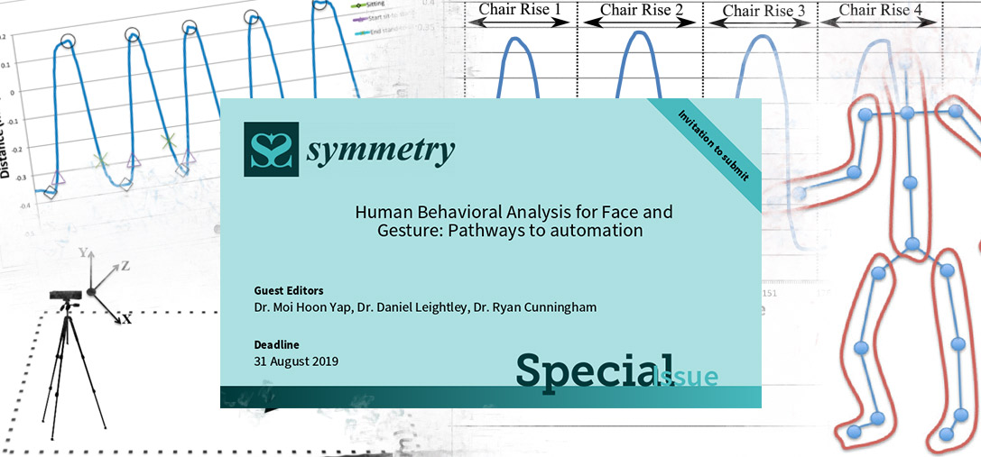 Call for Papers in Journal of Symmetry: Special Issue - Human Behavioral Analysis for Face and Gesture: Pathways to automation